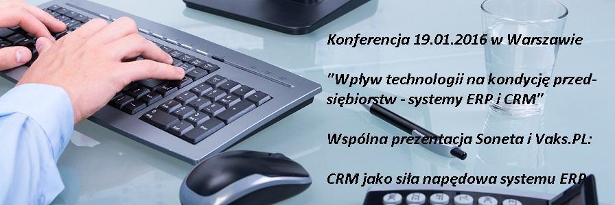 CRM jako siła napędowa systemu ERP