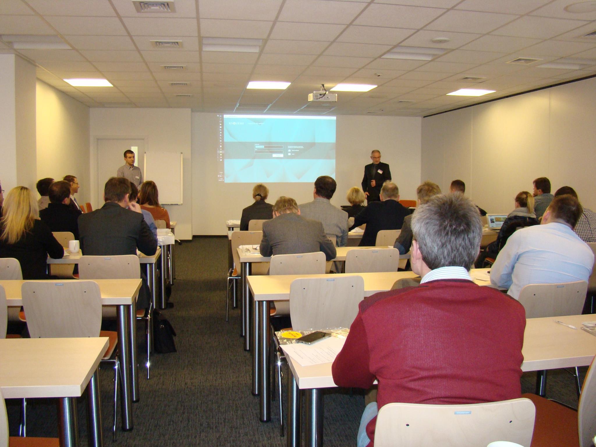 Konferencja - Wpływ technologii na kondycję przedsiębiorstw - systemy ERP i CRM.