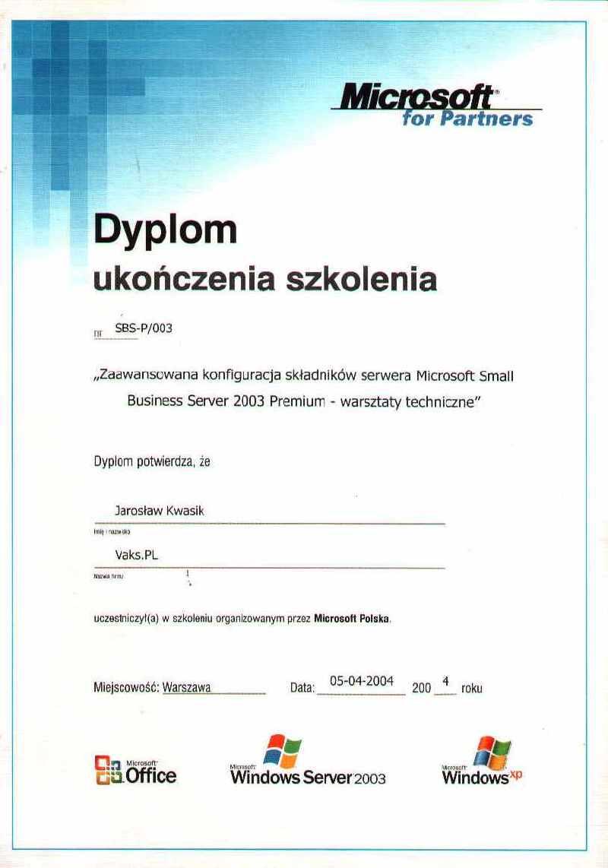 Microsoft Small Business Server 2003 Premium