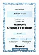 Microsoft Licensing Specialist