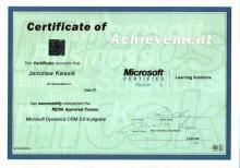 Microsoft Dynamisc CRM 3.0